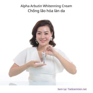 Alpha Arbutin Whitenning Cream - Kem trị nám và làm sáng da