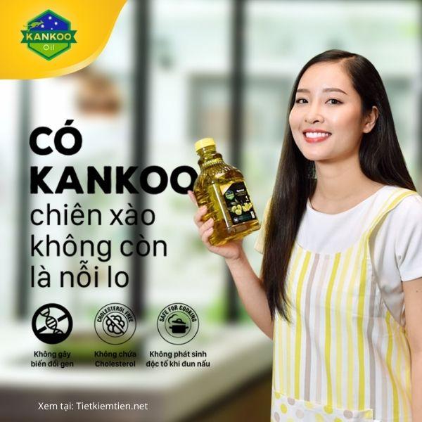 Dầu Oliu Hạt Cải Kankoo - Thơm ngon, dưỡng chất tốt cho sức khỏe