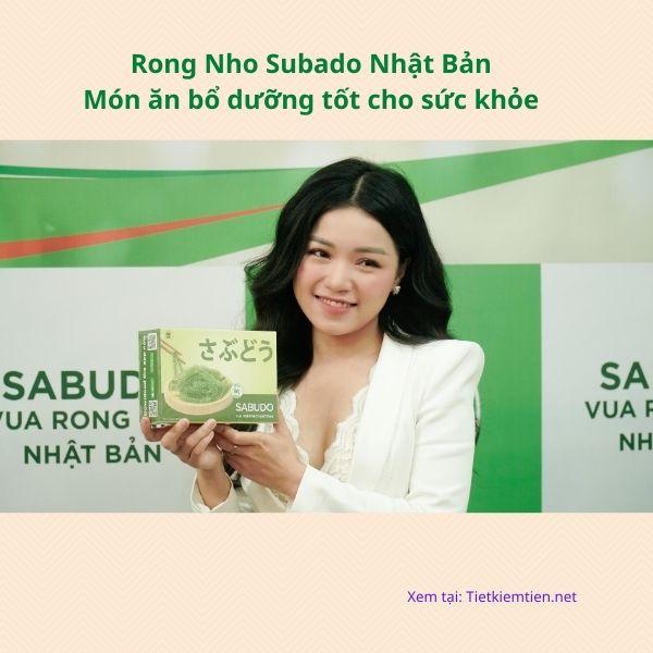 Rong Nho Subado Nhật Bản - Món ăn bổ dưỡng tốt cho sức khỏe