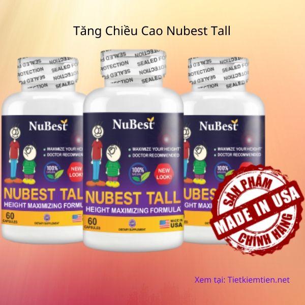 Tăng Chiều Cao Nubest Tall - Được chuyên gia đánh giá cao